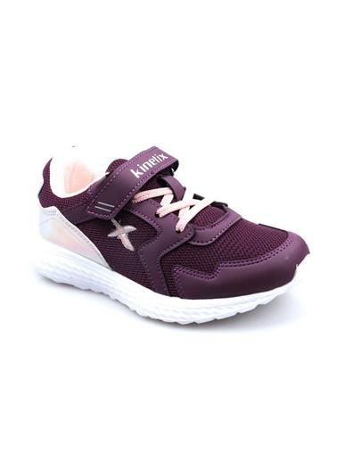 Kinetix Regor Kız Çocuk (32-37) Beyaz Günlük Spor Ayakkabı Mor